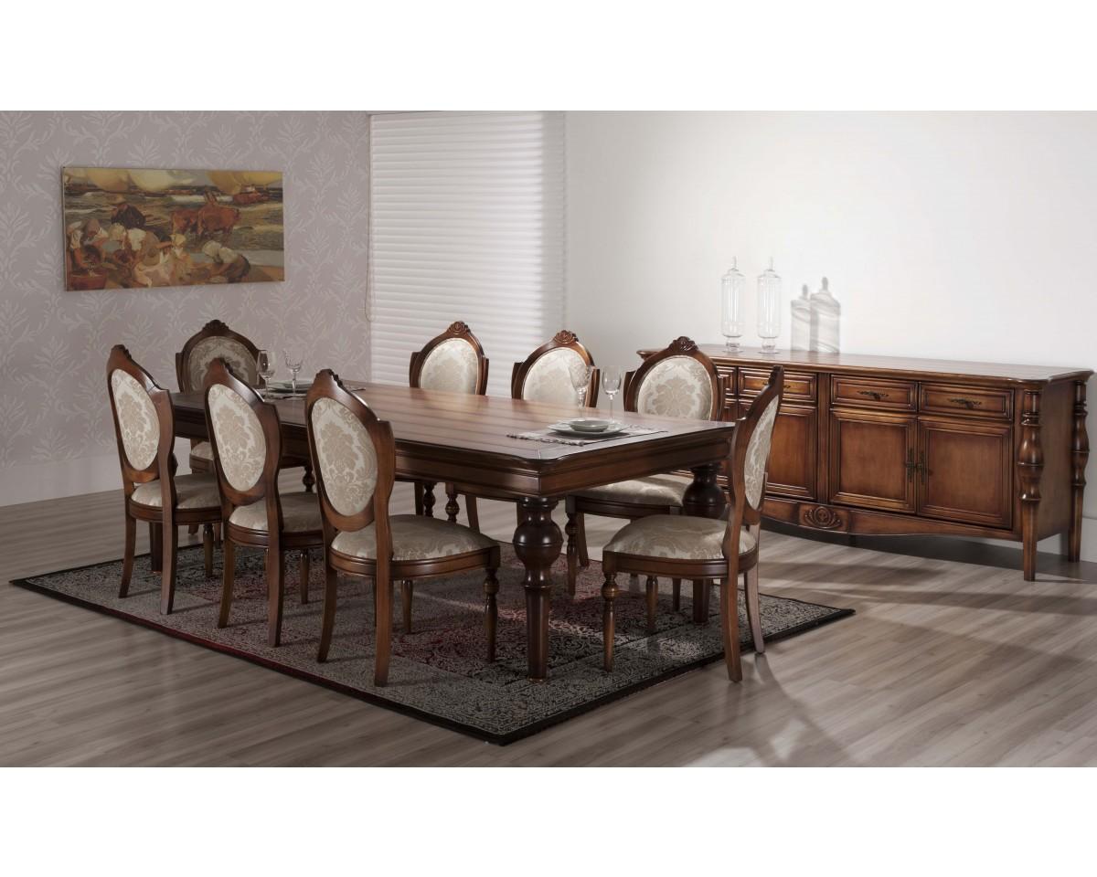 Sala de jantar amistad mesa 8 cadeiras deguile for Sala 2 conjunto de artes escenicas