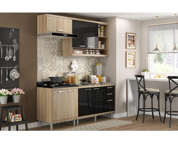 Kit Cozinha Toscana 4 Módulos 1,90m - 0181