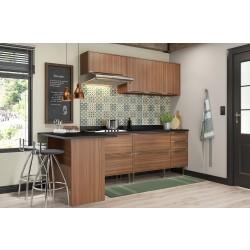 Kit Cozinha Toscana 6 Módulos 2,58m - 0171