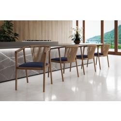 Cadeira em Madeira Tauari - CORDAS