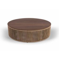Foto mesa de centro cordas