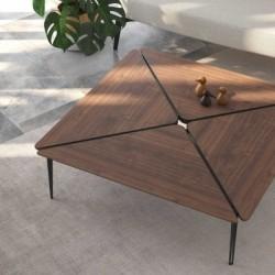 Foto ambientada mesa de centro druida