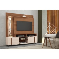 Imagem ambientada Home Theater 1,80m, Vitral