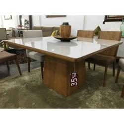 Mesa de Jantar Quadrada 1,35m - BARCELONA