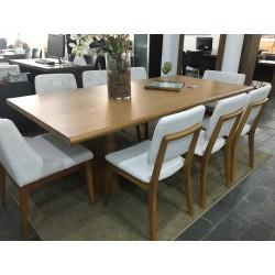 Conjunto Mesa de Jantar - VERONA com 6 Cadeiras - MONACO e 2 Poltronas -MAIZA
