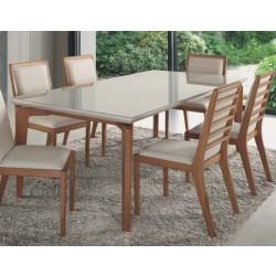 Foto ambientada mesa de jantar Columbia