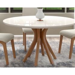Foto ambientada mesa de jantar, vegas