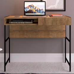 Escrivaninha 0,93m Steel Quadra - 27814