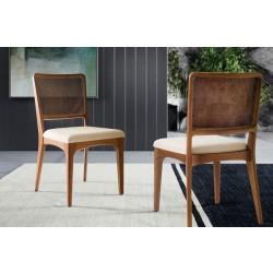 Foto ambentada com duas cadeira Loft