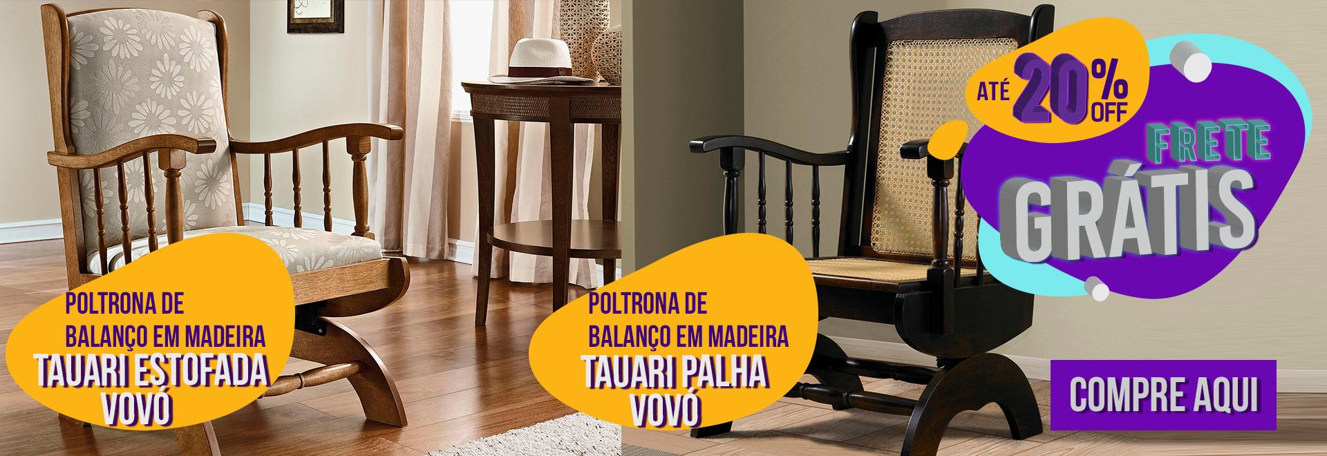 POLTRONAS DE BALANÇO - VOVÒ