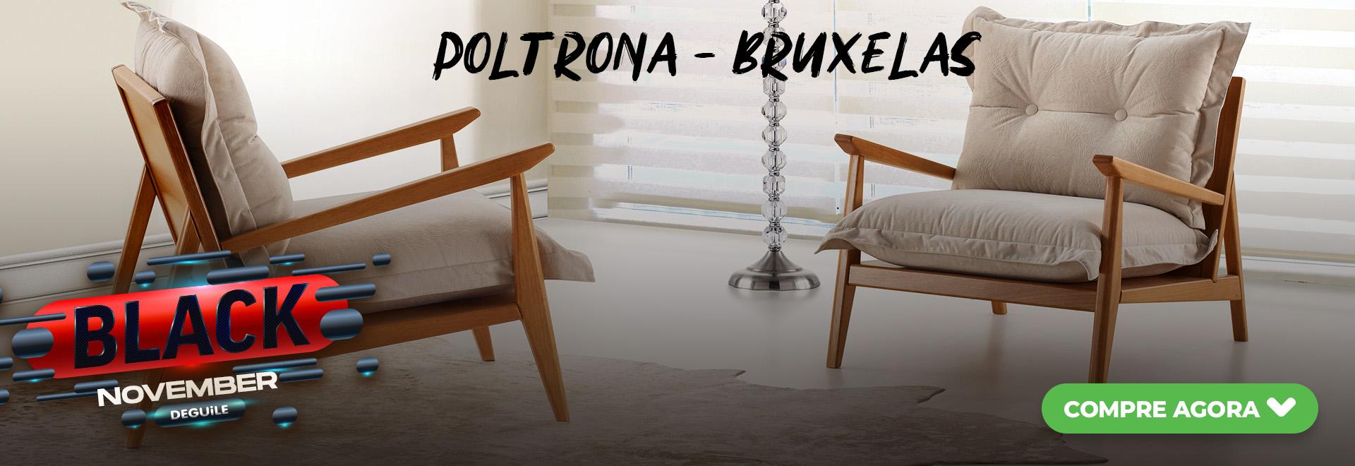 Poltrona - BRUXELAS