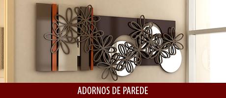 Na DEGUILE, você encontra diversos modelos de Adornos de Parede, esculturas fabricadas em madeira natural e MDF, combinado com outros materiais, como vidro, espelho, aço inox, entre outros, sempre seguindo as tendências de design do mercado da decoração