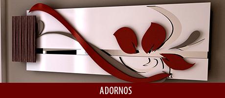 Na DEGUILE, você encontra diversos modelos de Adornos de Parede, esculturas fabricadas em madeira natural e MDF, combinado com outros materiais, como vidro, espelho, aço inox, entre outros, sempre seguindo as tendências de design do mercado da decoração.