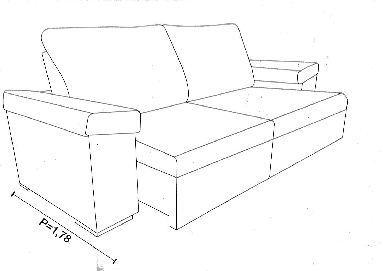 Tamanhos e Medidas do sofá Vitória