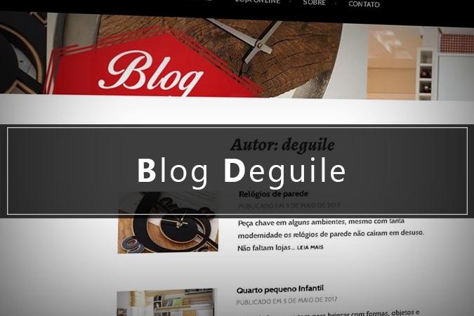 Blog cheio de Novidades!